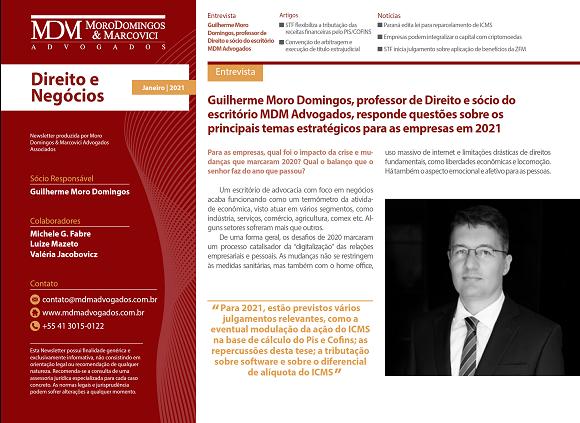 | Direito e Negócios | Janeiro 2021